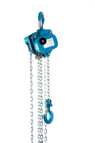 Silverline Hand Chain Block - 1t SWL - Hoistshop
