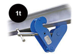 PLANETA BEAM CLAMP (TYPE BK) WITH SUSPENSION BAR - 207.1 - Hoistshop