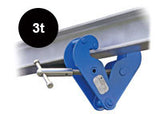 PLANETA BEAM CLAMP (TYPE BK) WITH SUSPENSION BAR - Ref: 207-1 - Hoistshop