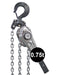 Premium PRO Ratchet Lever Hoists 0.75t SWL Ref: 207-8 - Hoistshop