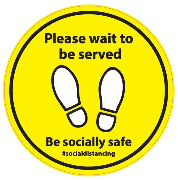 Please wait to be served - Hoistshop