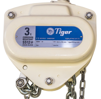 TIGER CORROSION RESISTANT CHAIN BLOCK SS12, 1.0t CAPACITY (211-52) - Hoistshop