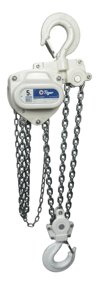 TIGER CORROSION RESISTANT CHAIN BLOCK SS12, 0.5t CAPACITY WITH WLL Ref: 211-61 - Hoistshop