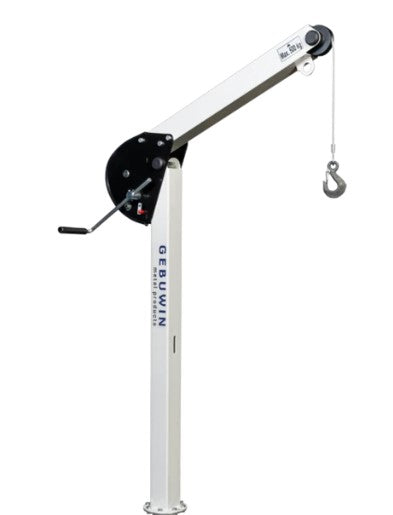 SD125 - 125kg Swivel Hoisting Davit (with built in winch and cable) Ref: 156-22 - Hoistshop