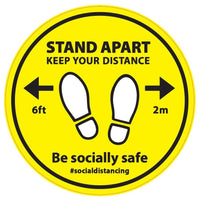 Stand Apart (Keep Your Distance 2m) - Hoistshop