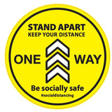 Stand Apart | Keep Your Distance| One Way - Hoistshop