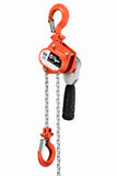 TIGER INDUSTRIAL LEVER HOIST TLH11, 0.5t CAPACITY - Hoistshop