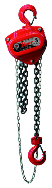 TIGER CHAIN BLOCK TCB14, 1.5t CAPACITY (211-3) - Hoistshop