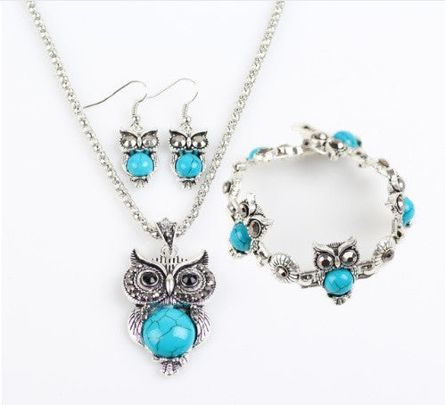 Gorgeous Owls Jewelry Set