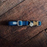 Dog Collars Indigo x Indigo