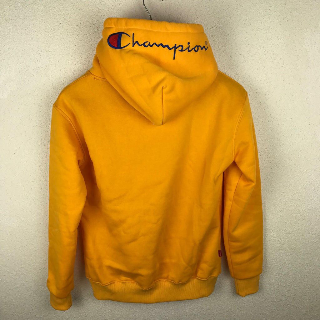 price reduced sports shoes cute cheap X Sappeindustry – Suprême Tozuipkx Jaune Pull Champion hxsBQtrdC