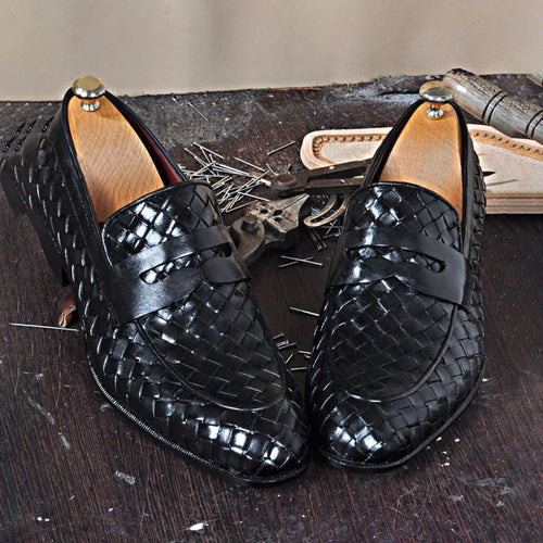 Men's Alligator Handmade Leather Loafers