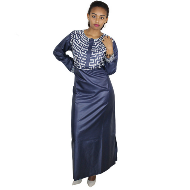89db2b0a791a6 Dress - African Dashiki Traditional Embroidery Design Soft Material Maxi  Dress