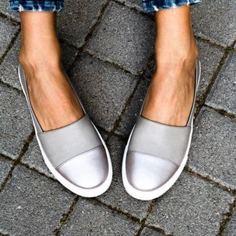 Flats - Slip-On Round Toe Flats