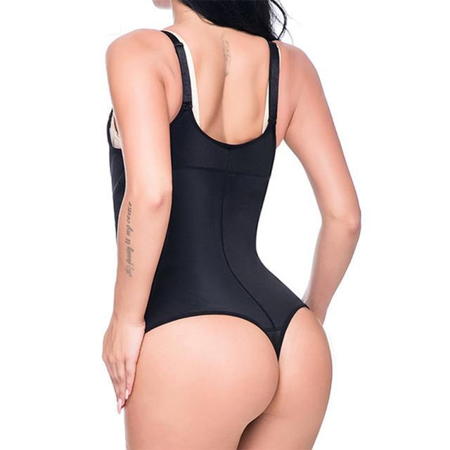 Shapewear - Latex Body Shaper Waist Slimming Trainer Adjustable Straps Shapewear