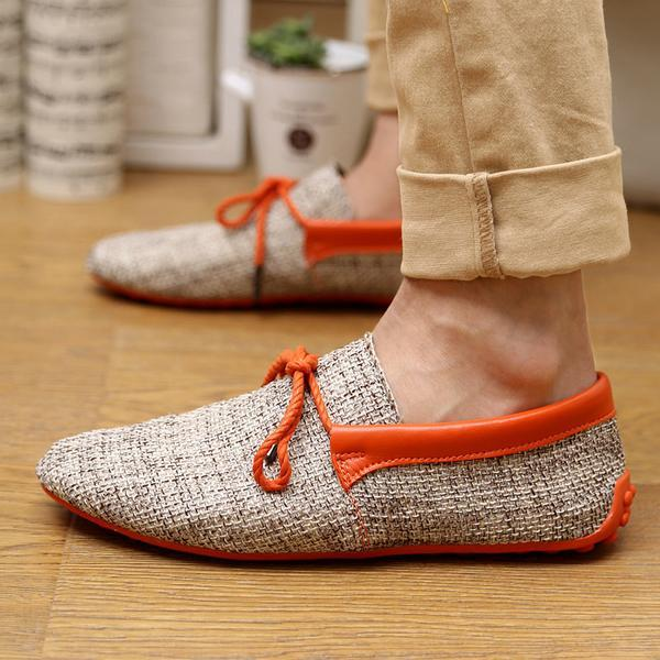 Men's Shoes - Fashion Breathable Woven Casual Comfortable Mocassins