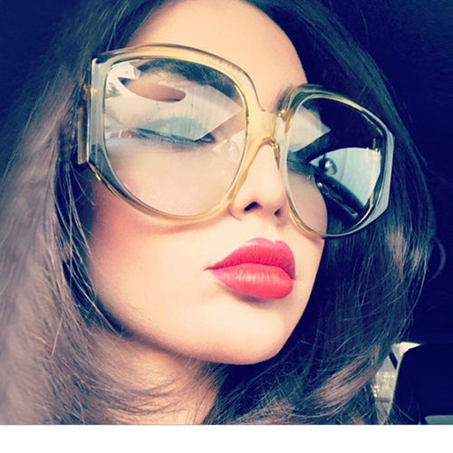 Sunglasses - 2018 New Arrival Oversize Women Round Sunglasses