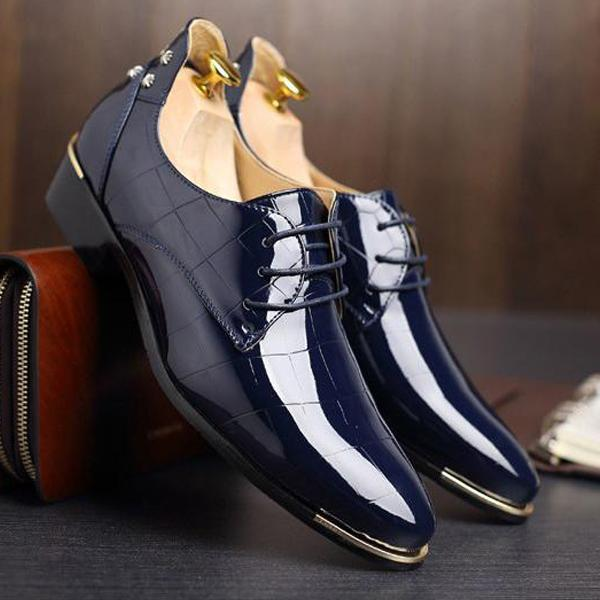 Men's Shoes - 2018 New Fshion PU Leather Casual Shoes