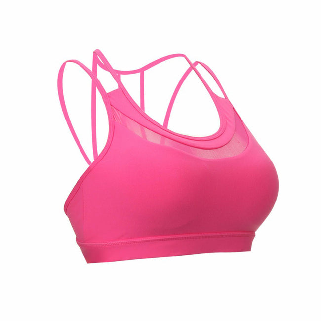 Fitness Bra - Sexy Breathable Backless Mesh Bras