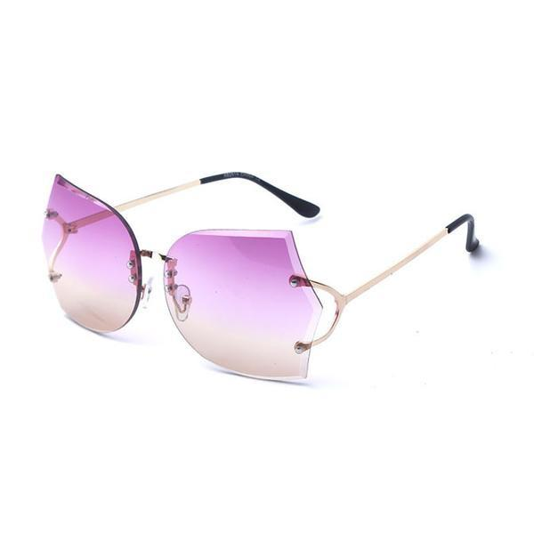 Sunglasses - 2018 New Rimless Gradient Clear Sunglasses