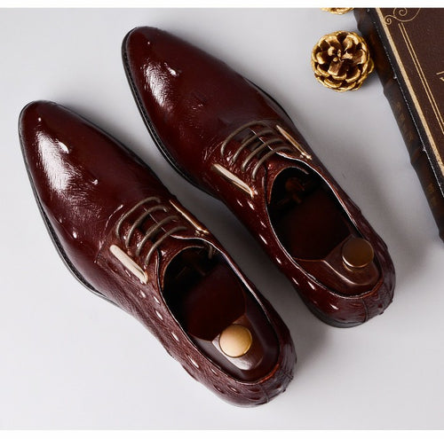 Formal Shoes - Leather Classic British Style Shoes