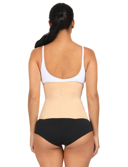 Plus Size Two Layer Waist Trainer 4 Steel Bones