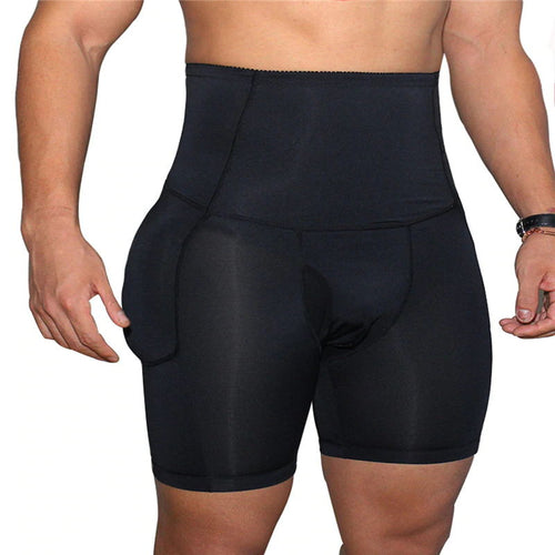 High Waist Tummy Control Butt Lifter Men's Padded Panties
