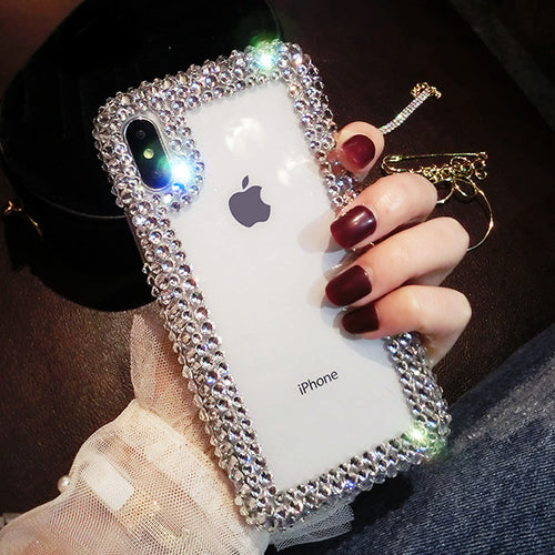 iPhone Case - Luxury Crystal Diamond Phone Case For iPhone XS 8 7 6 6S Plus