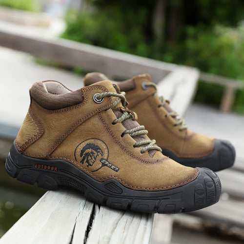 Casual Shoes - New Leather Mountaineering Casual Shoes