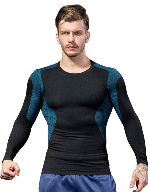 Knitting Seamless Sport Top Long Sleeves