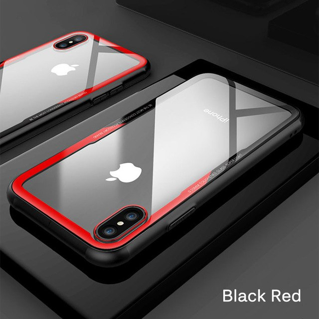 super popular 5b6fb 639e2 iPhone Case - Ultra Thin Tempered Glass Cases For iPhone XS /XR /XS MAX
