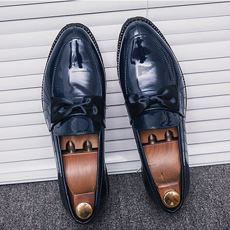 Loafers - Bow Italian Luxury Wedding Shoes