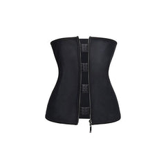 Waist Trainer - Workout Slimming Hook&Zipper Tummy Control Waist Trainer Cincher