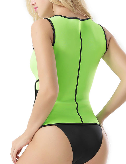 46da5544aa3 Amazing Plus SBR Body Shaper Back Support Zip Up Contour