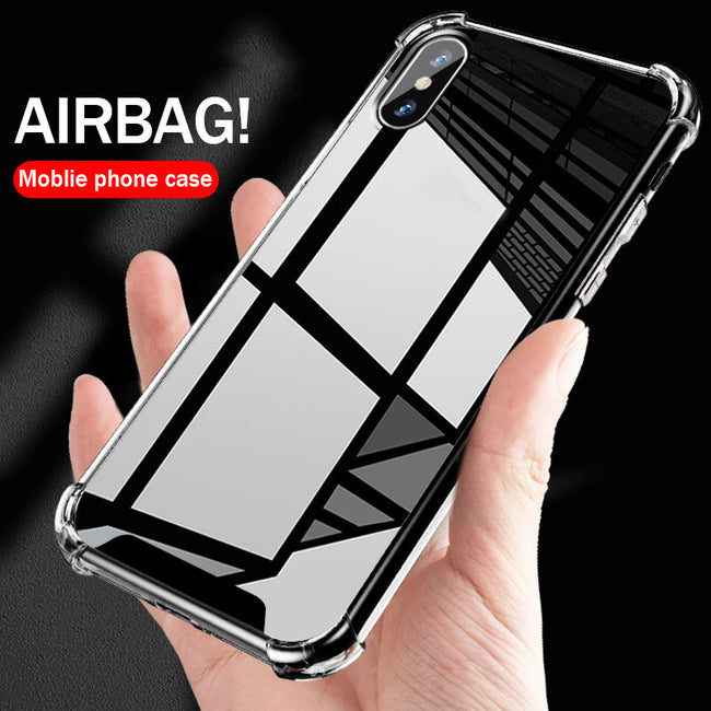 Phone Case - Mirror Anti Shock Hard Acrylic Protective Case Shell For iPhone