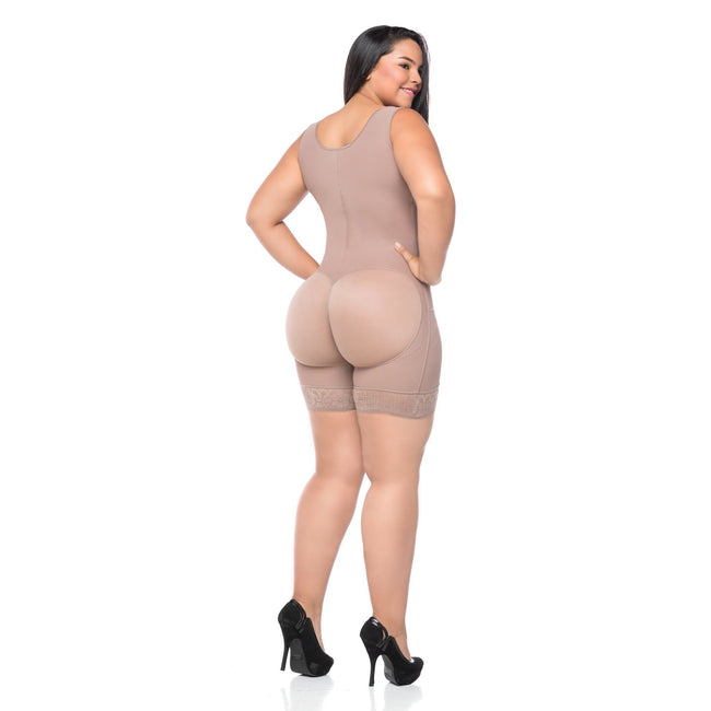 Shapewear - Plus Size Strap Slimming Waist Trainer Butt Lifter Corsets
