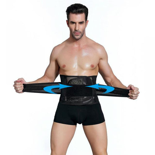 Body Shaper - Slimming Belly Men Body Shaper Corset Waist Belt