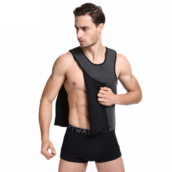 Men's Shapewear - Slimming Vest Neoprene Slimming Belt Body Shaper