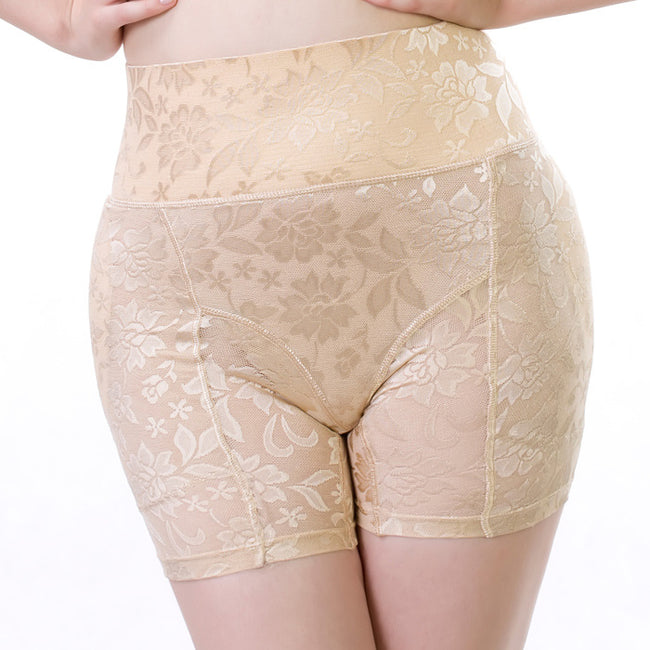 f84214a9c1c Shapewear - Fashion Sexy Lace Breathable High Waist Abundant Fake Butt Pad  Hip Pants