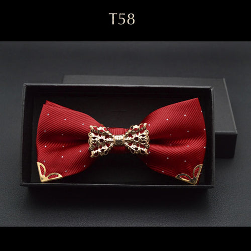 Men Tie - New Boutique Hollow Metal Decoration For Men Neck Wear
