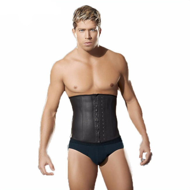 Men's Shapewear - Latex Waist Trainer Vest for Men Corset