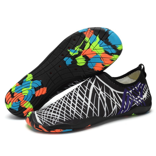Slip-Ons - Unisex Outdoor Swimming Flat Soft Seaside Shoes