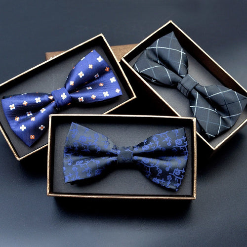 Bow Ties - Polyester Polka Dot Necktie Business Wedding