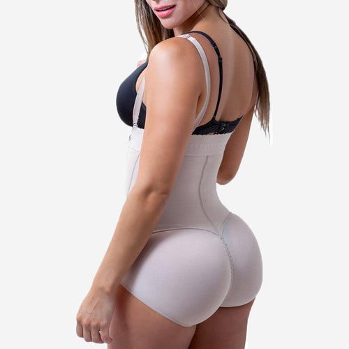 Shapewear - Liposuction Girdle Clip and Zip Bodysuit Vest Waist Shaper