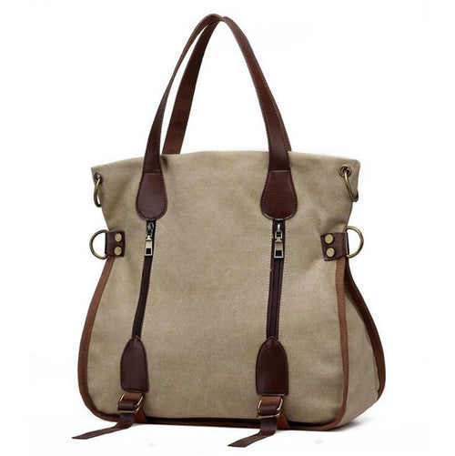 Bags - 2018 Fashion Women Canvas Shoulder Bag