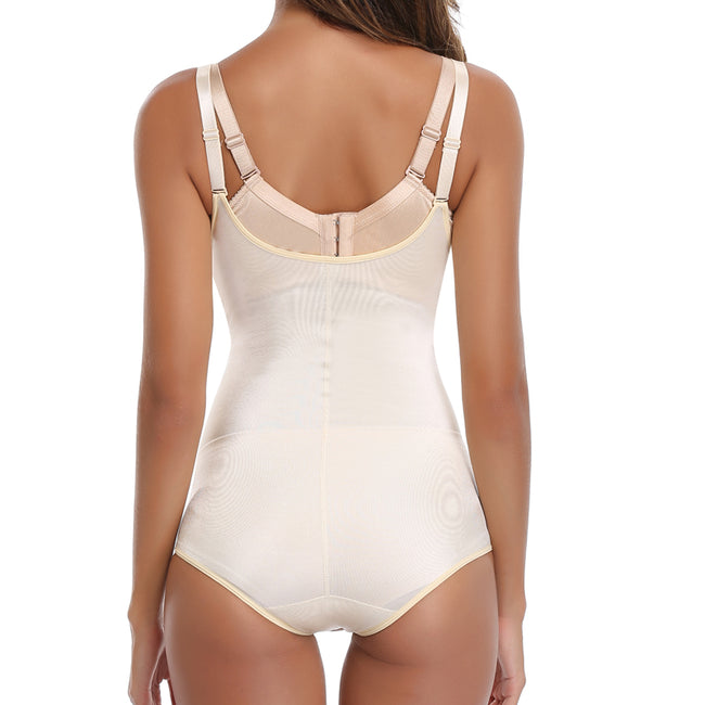 One-piece Girdle - Postpartum Firm Control Adjustable Strap Shapewear