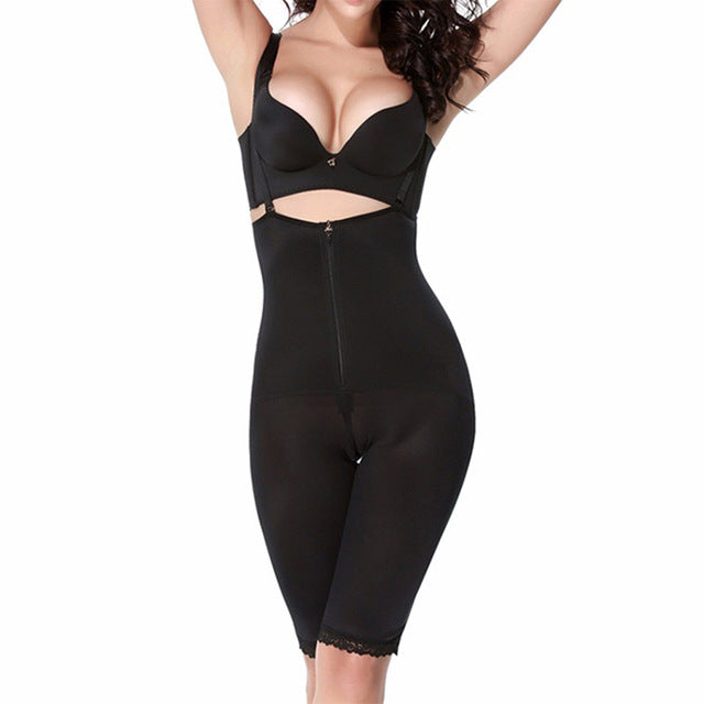 Shapewear - Hot Clip and Zip Waist Trainer Shapewear Bodysuit