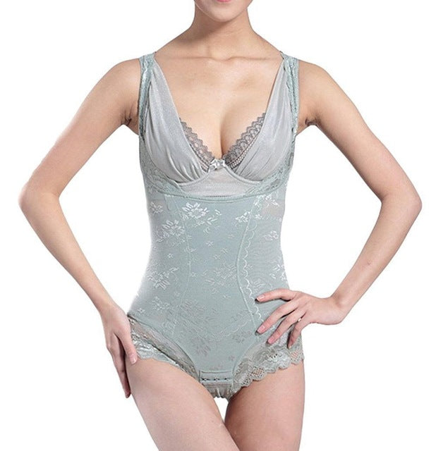 One-Piece Girdle - Tummy Control Bodysuits Slim Figure Waist Trainer Gridle