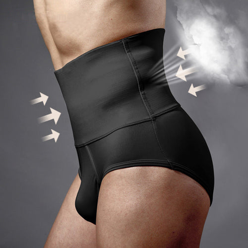 Men's Shapewear - High Waist Slimming Fit Tummy Control Underwear