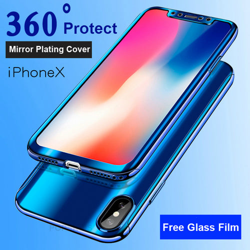 Phone Case - 360 Mirror Full Cases For iPhone